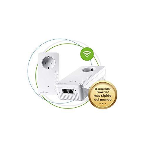 Devolo Magic 2 WiFi Next - Starter Kit para la Wi-Fi Mesh (2400 Mbps, 3 Conexiones LAN Gigabit, AC Wi-Fi, G.hn)